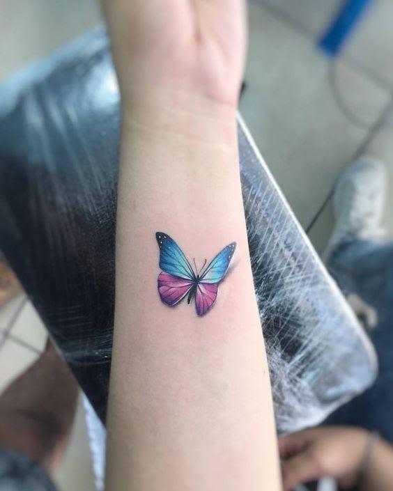 49 Mejores Tatuajes De Mariposas Y Su Significadotop 2018