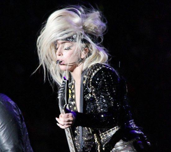 Born This Way Ball Tour (October 2012), Lady GaGa