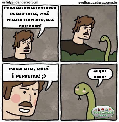 Blog Viiish - Encantador de serpentes