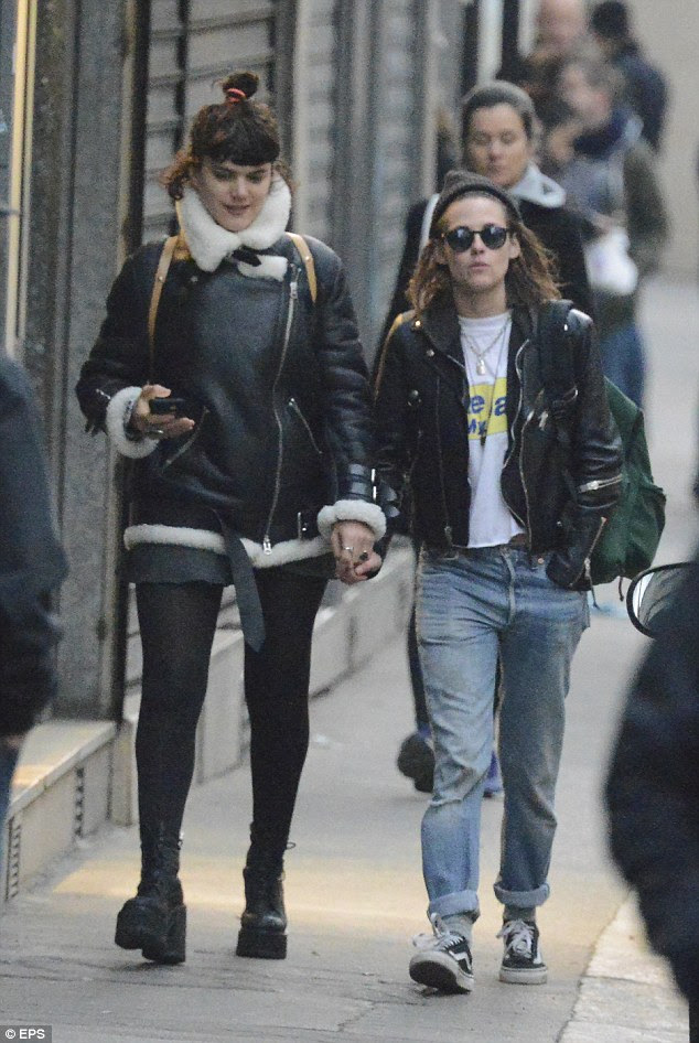 Mon amour! The two have been spending plenty of time together as they were spotted on a similar outing in the City Of Lights on Monday