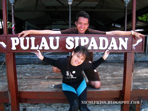 me and gerald in sipadan 2008