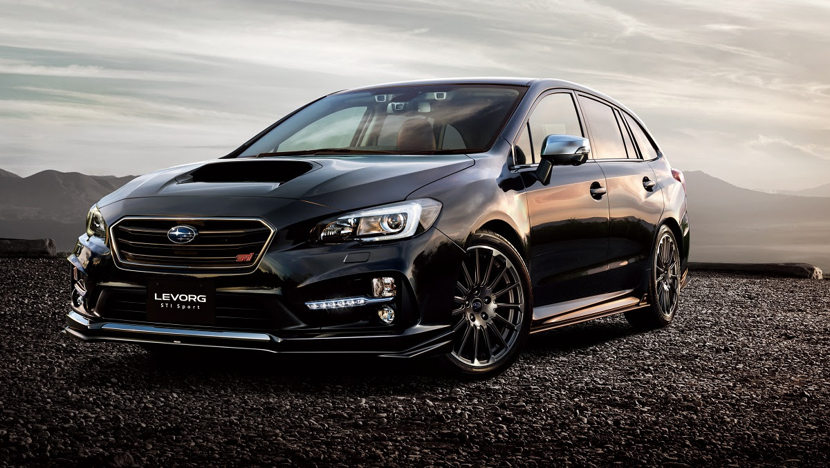 The Subaru Levorg STI Sport goes on sale in Japan this month, joining ...
