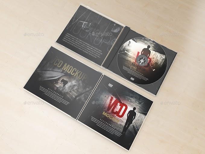 Special Print Mockups - Realistic CD VCD Jewel Case Mockups