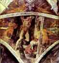 Michelangelo. The Punishment of Haman.