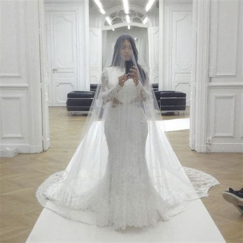 Best 25  Kim kardashian wedding dress ideas on Pinterest