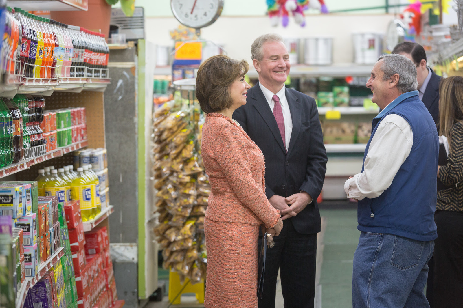 Meeting with a Small Business Owner