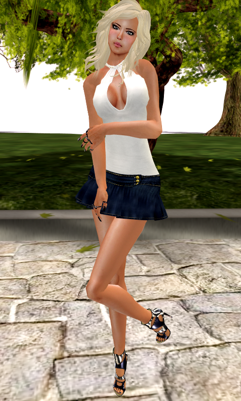 ::HH:: Shayla Dress - White