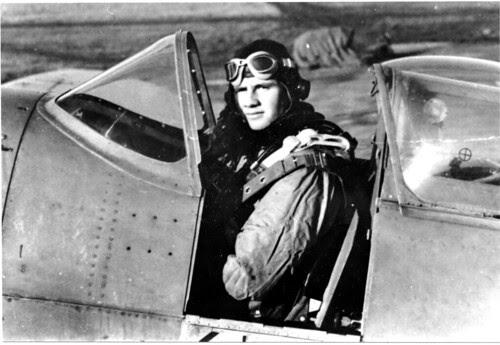American Spitfire Pilot Cockpit