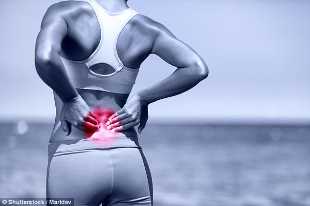 Previous research suggests a single injection could relieve back pain for years (stock)