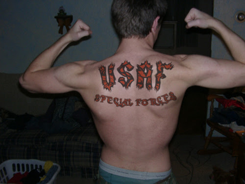 Usaf Special Forces Tattoo Picture