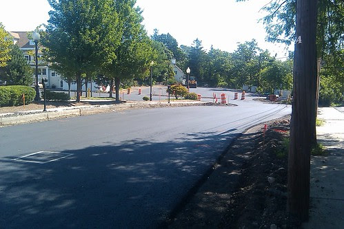 Depot St - paving update