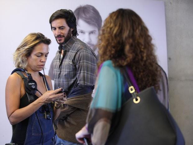 Tozzi durante as gravações de Geração Brasil (Foto: Pedro Curi/TV Globo)