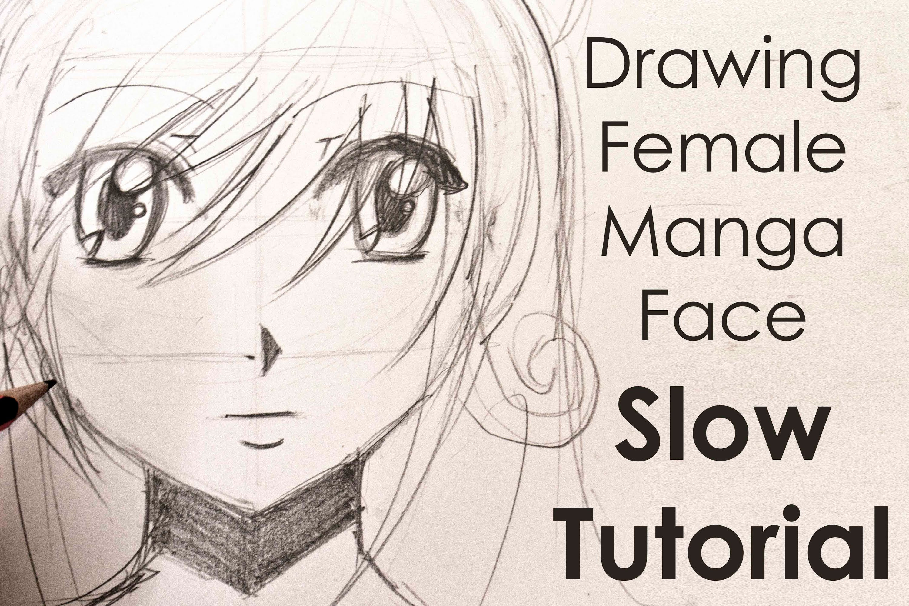 Cartoon Simple Girl Face Drawing Easy Drawing Ideas