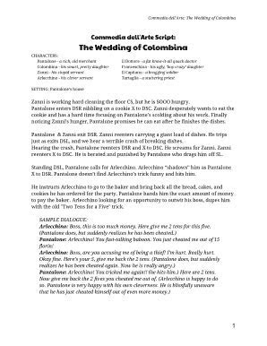 Printable wedding ceremony script generator   Fill Out