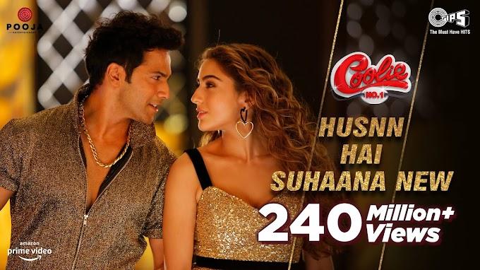 Husn Hai Suhaana New song lyrics - Coolie No.1