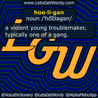 hooligan 07/16/2018 GFX Definition