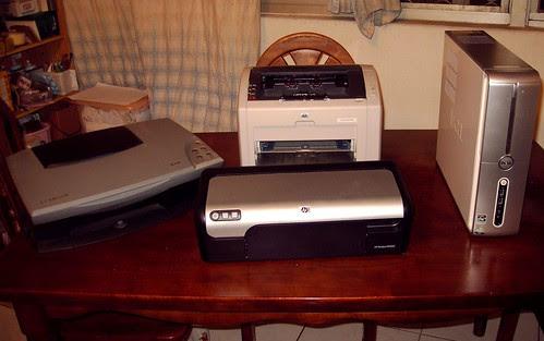 印表機和PC