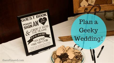 How to Host a Geeky Wedding   Plan Your Nerdy Nuptials