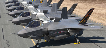 All F-35s remain grounded. (photo: Air Force)