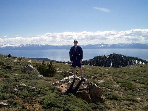 Tony near Snow Valley Peak