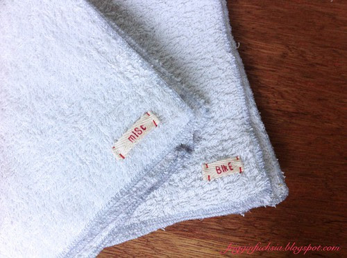 Upcycled Bath Towel