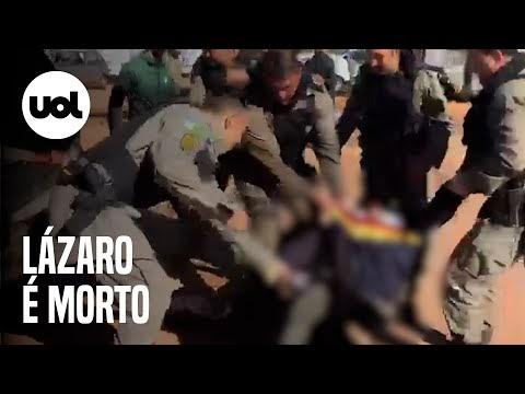 LÁZARO MORRE APÓS 20 DIAS DE BUSCAS; VÍDEO MOSTRA POLICIAIS CELEBRANDO APÓS CORPO SER CARREGADO