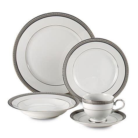 Mikasa® Platinum Crown Dinnerware Collection   Bed Bath