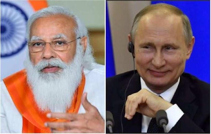 Modi speaks to Putin, thanks him for rushing medical aid