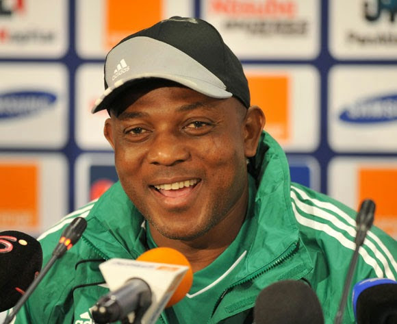 Stephen Keshi580 Stephen Keshi Unveils 23 Man Super Eagle Squad For Brazil 2014, Drops Ahmed Musa & Sunday Mba