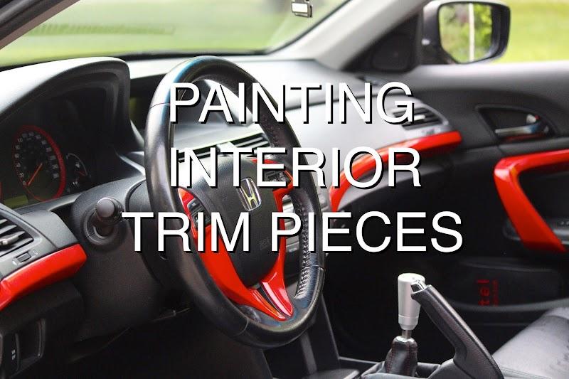 Car Interior Trim Paint