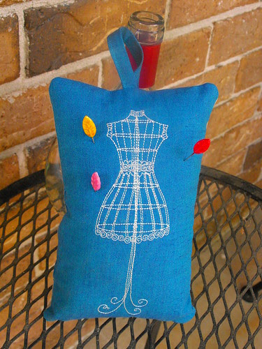 dress form embroidery