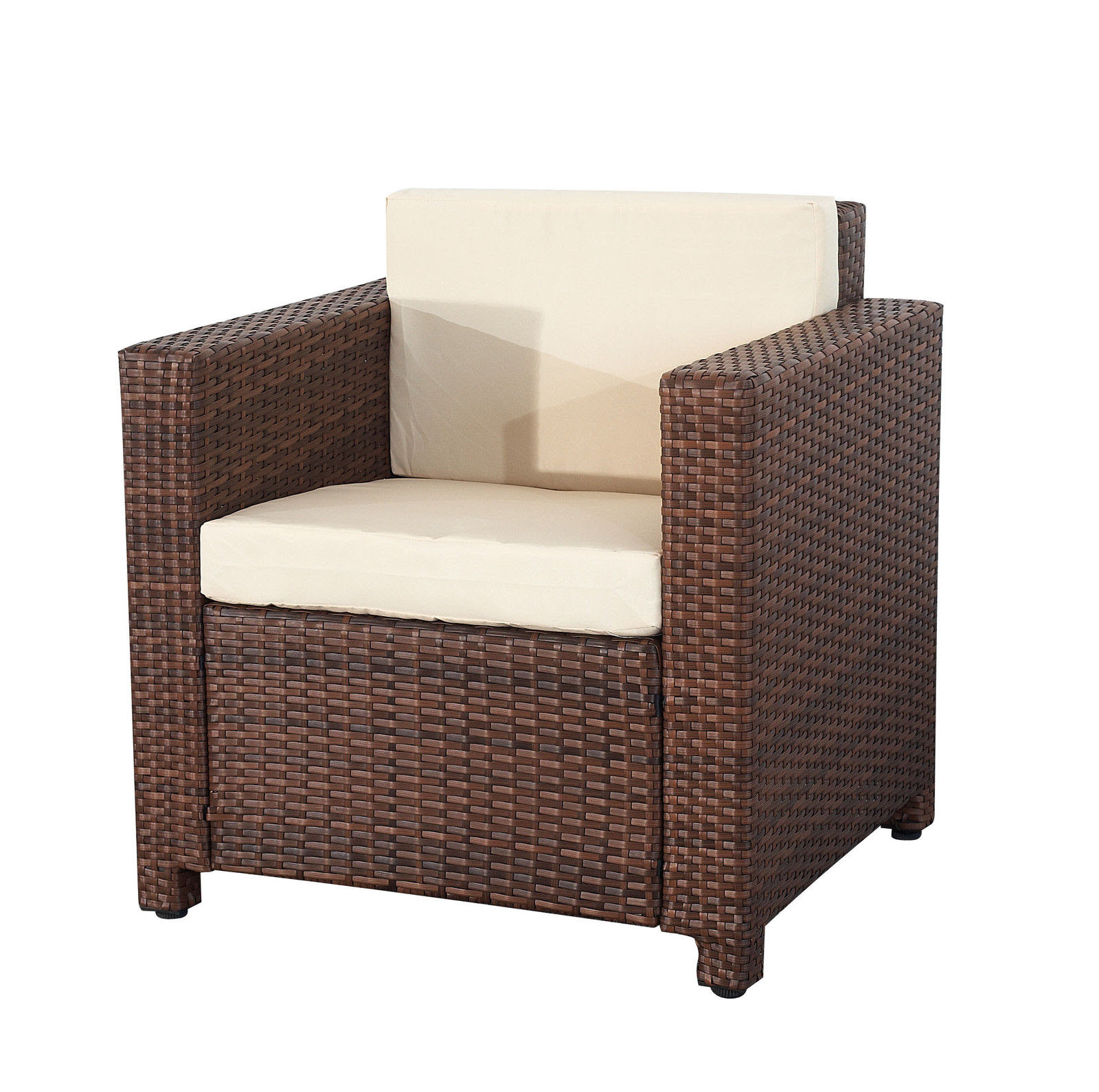 Evre Rome 4PCS Weatherproof Outdoor Furniture Set ...