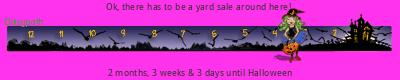 Daisypath Halloween tickers