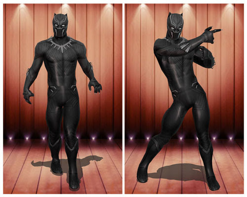 MMD Black Panther Civil War