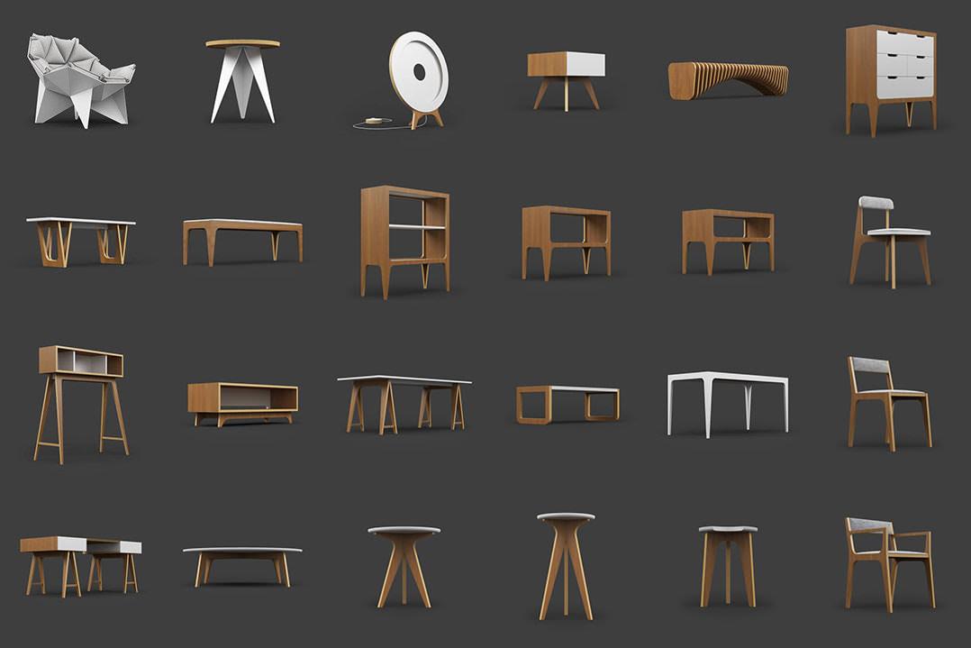 25 Free 3D Furniture