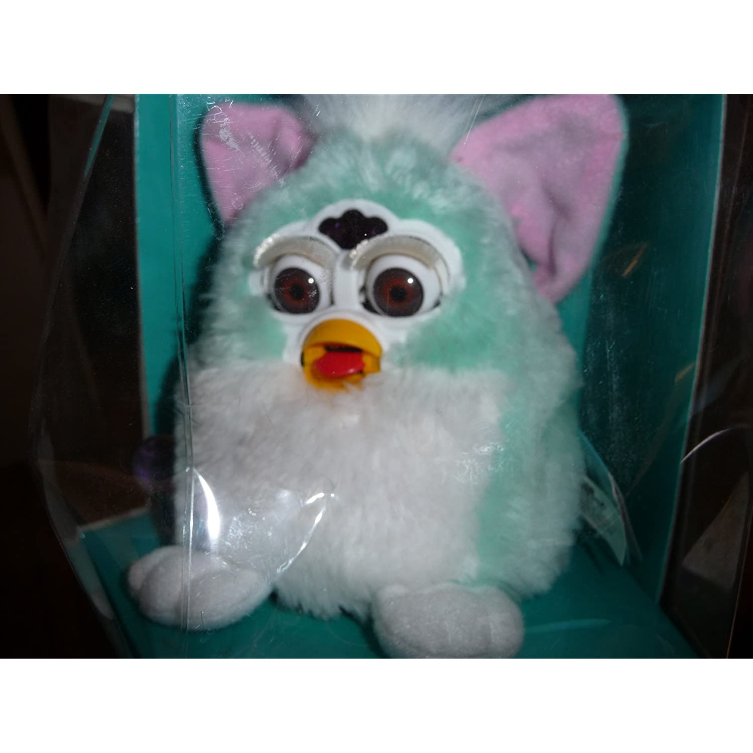 Furby Baby - Blue w/ white belly & pink ears
