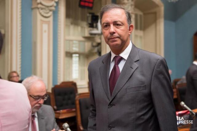 Seulement 11% des Québécois souhaitent voir Sam Hamad... (Photo Jacques Boissinot, archives La Presse)