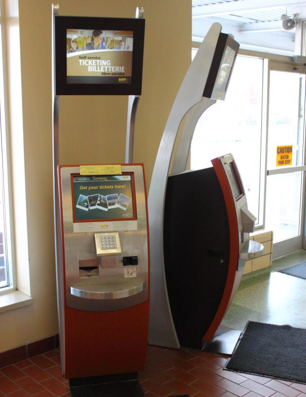 E-Ticket machine in Windsor, ON