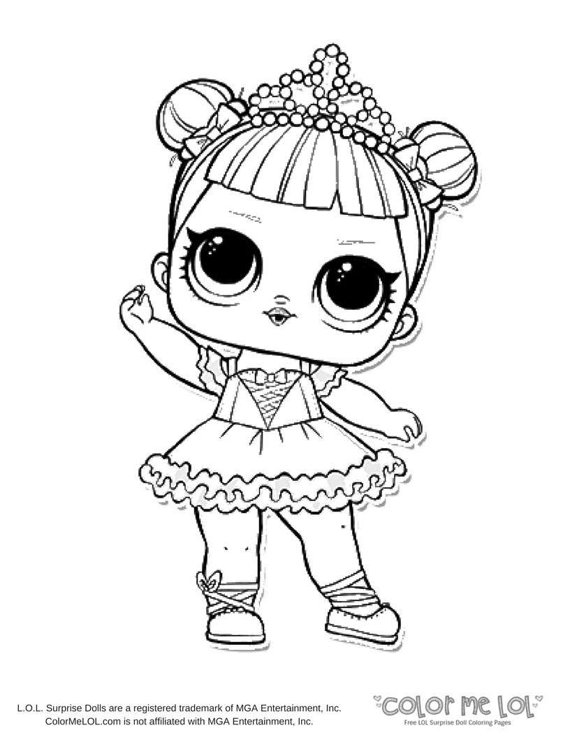 Lol Glitter Coloring Pages Coloring And Drawing