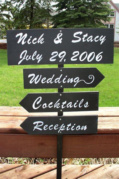 Wedding Direction Signs : myecochicwedding.com