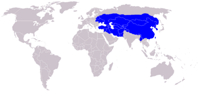 Mongol Empire in 1300-1400