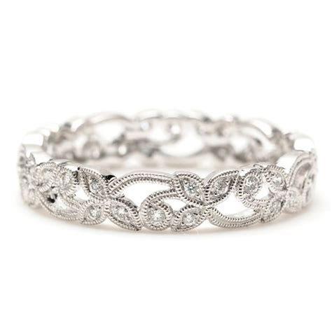 Greenwich Jewelers   Beverley K Vine Scroll Diamond