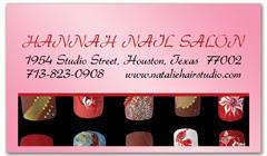 BCS-1078 - salon business card