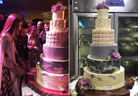 Sonam Kapoor and Anand Ahuja   Wedding Cakes   Celebrity