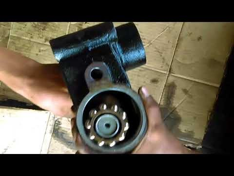 Reciprocating Ball Type Steering Mechanism