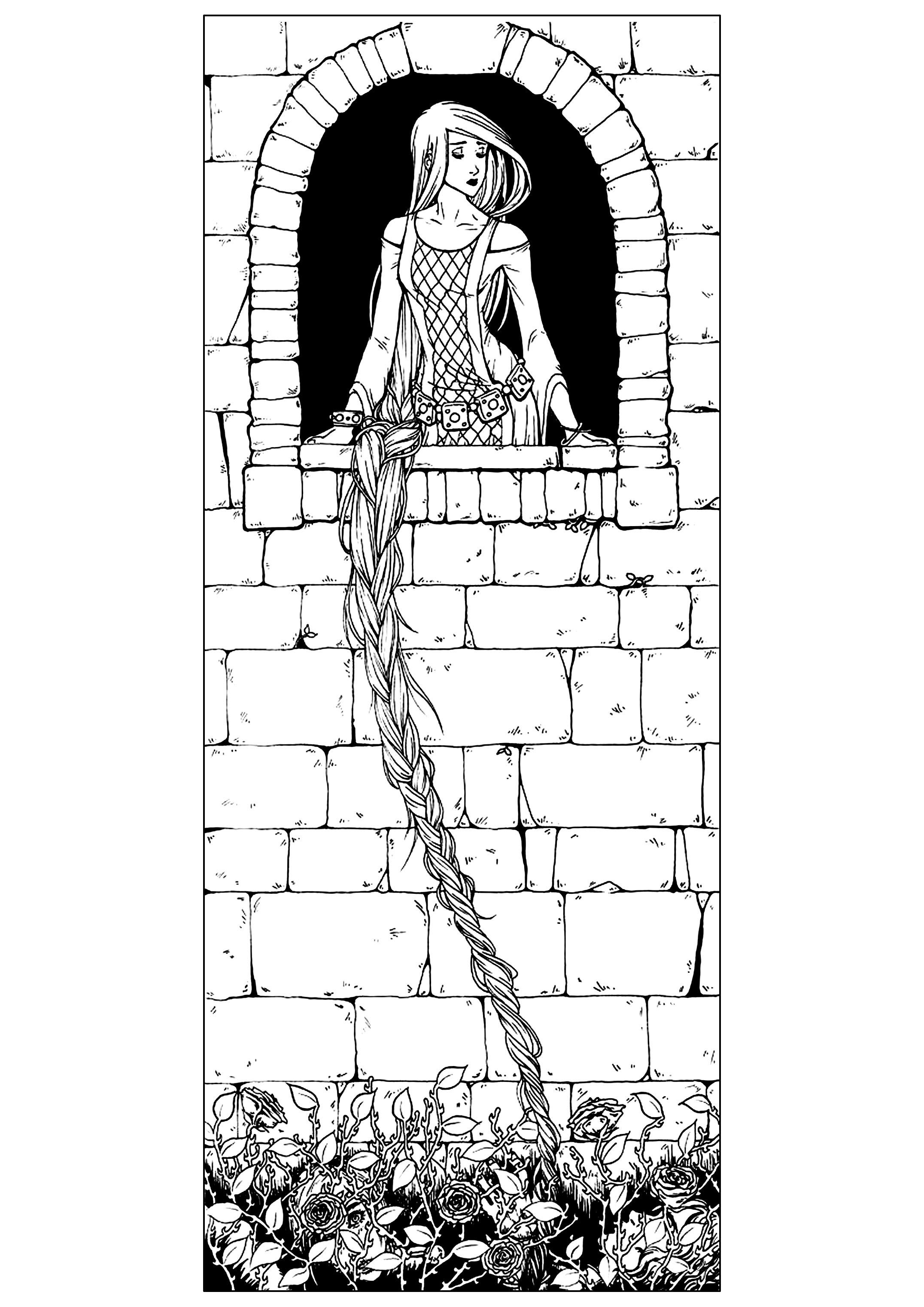 Fairy tales - Coloring pages for adults : coloring-adult ...