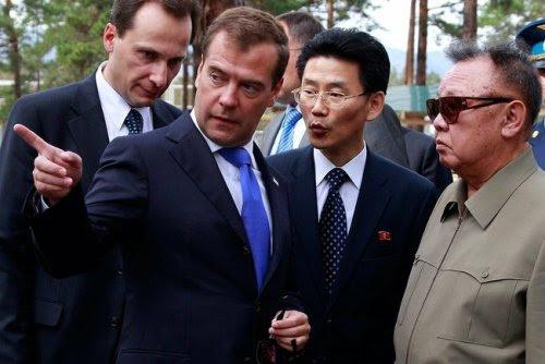 looking at dmitry medvedev
