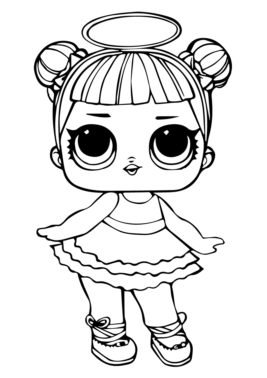 Lol Diva Coloring Page Coloring And Drawing