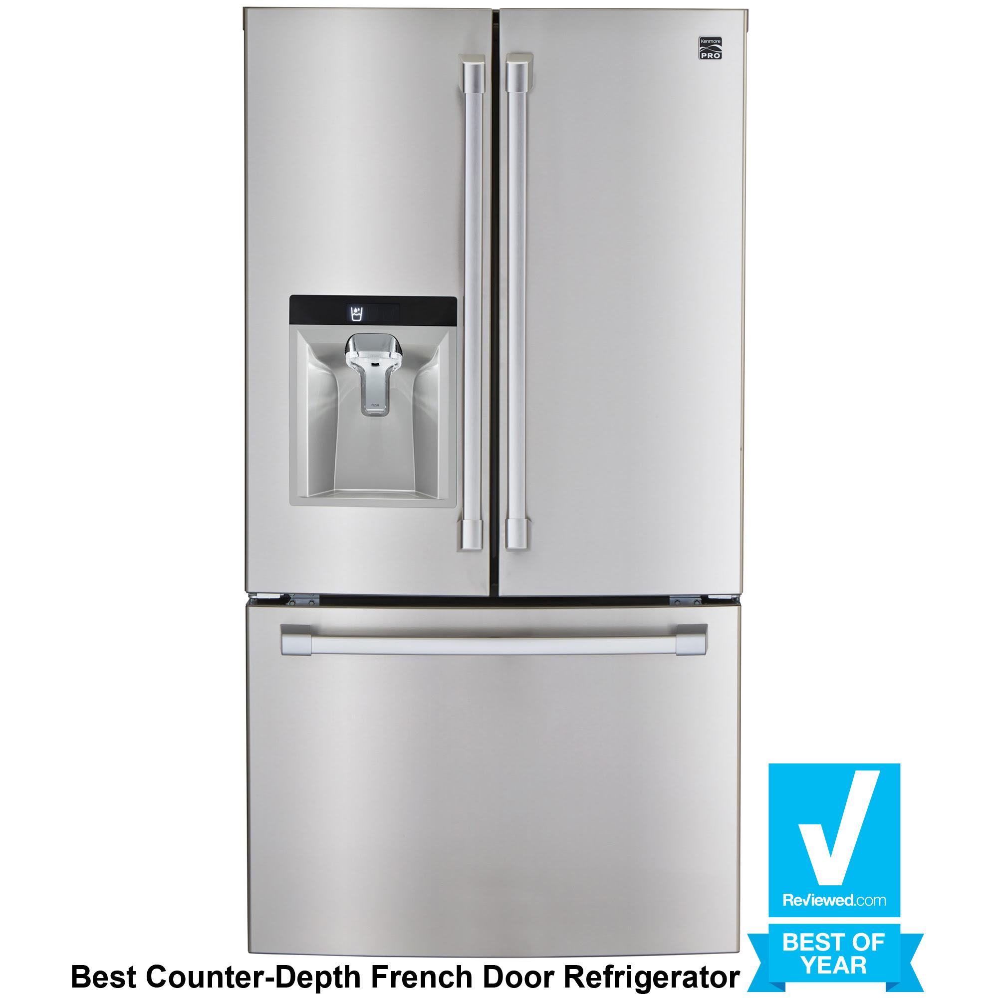 How deep is a counter depth refrigerator