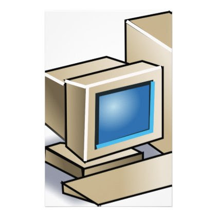 Retro Computer Stationery